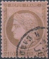 No 53 - Ceres 10c - 1871-1875 Cérès