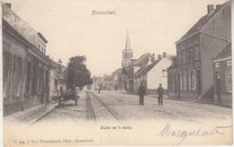 Brasschaat - Brasschaet - Zicht In 't Dorp - Geanimeerd - 1909 - J. Van Wesenbeeck, Phot., Brasschaet N. 294 - Brasschaat
