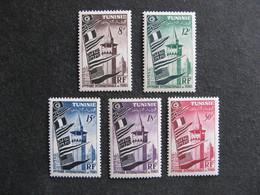 TUNISIE : TB Série N° 360 Au N° 364, Neufs X. - Tunisia (1888-1955)
