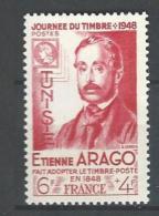 "Tunisie YT 324 "" Journée Du Timbre "" 1948 Neuf** - Tunisia (1888-1955)"