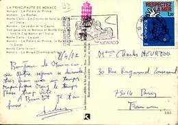 POUR TIMBRE MONACO / 20 CARTES POSTALES  GRAND  FORMAT / MONACO /LOT  800/ 10 - 5 - 99 Postcards