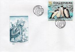 CZECH REPUBLIC  - 2009 Preserve The Polar Regions And Glaciers   FDC5944 - FDC