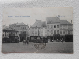 Cpa Nivelles Coin De La Grand Place 1908 - Nivelles