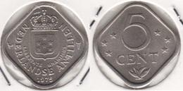 Antille Olandasi 5 Cents 1975 KM#13 - Used - Antillen (Niederländische)