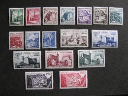 TUNISIE : TB Série N° 366 Au N° 382, Neufs X. - Tunisia (1888-1955)