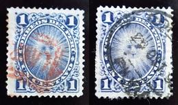 1886 Pérou Yt 76 Coat Of Arms . Oblitérés Cachet Rouge - Peru