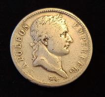 1 FRANC 1808 MA Type NAPOLEON 1er (ATELIER MARSEILLE) - H. 1 Franc