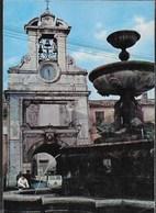 LAZIO - SUTRI (VT) - FONTANA E MONUMENTO CADUTI - VIAGGIATA 1977 - Altre Città
