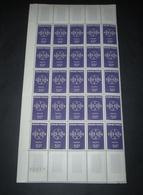 FRANCE 1959  Neuf** N° 1219 . Europa (C.E.P.T.) 1/2 FEUILLE - Blocs & Feuillets