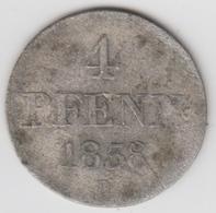 @Y@    Duitsland   4  Pfennig  1838   (D20) - Monedas En Oro