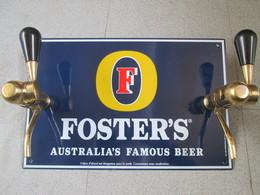 Plaque Emaillee  Foster Australian Beer - Enseignes
