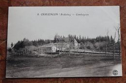 CHALENCON (07) - COMBEYRON - France