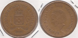 Antille Olandesi 1 Gulden 2010 Km#37 - Used - Antillen (Niederländische)