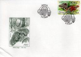 CZECH REPUBLIC  - 2009 Nature Protection - The Krivoklatsko Region  FDC5959 - FDC