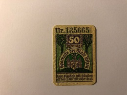Allemagne Notgeld Uelzen 50 Pfennig - [ 3] 1918-1933 : République De Weimar