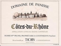 COTES DU RHONE  DOMAINE DE PANISSE (3) - Côtes Du Rhône