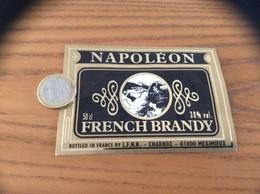 Etiquette «FRENCH BRANDY - NAPOLÉON - LFHR CHARNOZ - MEXIMIEUX (01)» - Etiquettes