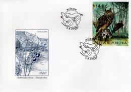 CZECH REPUBLIC  - 2009 Nature Protection - The Krivoklatsko Region  FDC5961 - FDC