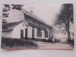 Cpa Groenendael Welriekende Café La Vue De La Foret De Soigne Brasserie Van Lier - Hoeilaart