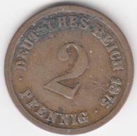 @Y@    Duitsland   2  Pfennig  1875  A  (D15) - [ 2] 1871-1918: Deutsches Kaiserreich