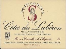 COTES DU LEBURON CAVE DES VINS DE SYLVIA (3) - Etiquettes