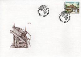 CZECH REPUBLIC  - 2009 Technical Monuments - Windmills  FDC5964 - FDC