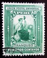 1895 Pérou Yt 95 . Revolution Against General Caceres. Oblitéré - Peru
