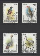 COTE-D'IVOIRE . YT   N° 565A/565D  Obl  1980 - Côte D'Ivoire (1960-...)
