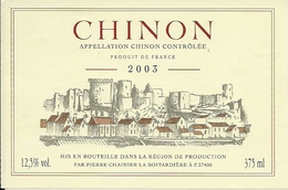 CHINON  PIERRE CHAINIER 2003 (3) - Etiquettes