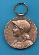 Médaille Militaire - République Française - Aux Défenseurs De La Patrie - 1970-1871 - France