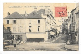 LAPALISSE  (cpa 03)  Place De L'industrie Et Rue Du Commerce   -  L 1 - Lapalisse