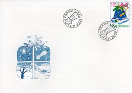 CZECH REPUBLIC  - 2009 Merry Christmas  FDC5969 - FDC
