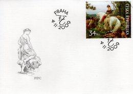 "CZECH REPUBLIC  - 2009 Art On Stamps - F.Zenisek ""Oldrich & Bozena"" 1884  FDC5970 - FDC"