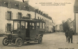 Clohars Carnoet - Passage Au Bourg De L'Autobus Faisant Le Service De Quiperlé à Le Pouldu - Gros Plan ! - Animation - Clohars-Carnoët