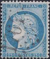 N°60A Oblitéré GC 1764 De Haubourdin (57), Belle Frappe, TB - 1871-1875 Cérès