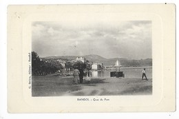 BANDOL  (cpa 83)  Quai Du Port   -  L 1 - Bandol