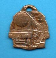 Médaille - Fédération Nationale Des Travailleurs Des Chemins De Fer - Fusion 23 Janvier 1917 - Professionals / Firms