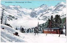 BERNINA-BAHN GR 1910 Im Winter - GR Graubünden