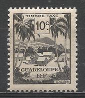 Guadeloupe 1947. Scott #J38 (M) Village * - Guadeloupe (1884-1947)