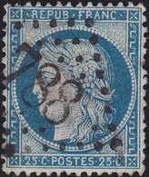 N°60C Oblitéré GC 788 De Cavaillon (86), Très Belle Frappe, TB - 1871-1875 Cérès