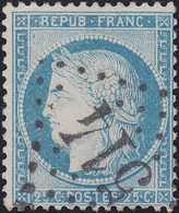 N°60C Oblitéré GC 514 De Boisy St Léger (72), Très Belle Frappe, TB - 1871-1875 Cérès