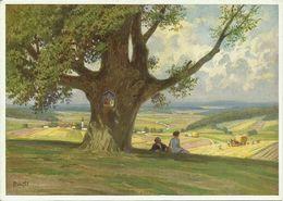 AK Gemälde Paul Hey - Blick Ins Land - Farbkarte #2455 - Hey, Paul