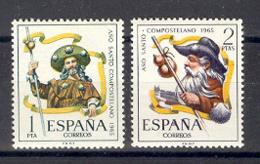 Espagne 1965. Annee Sainte Compostellle. Yv 1332-33 (**) - 1961-70 Neufs