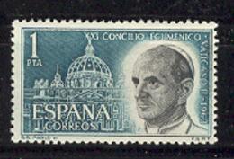 Spain 1963. Concile Vatican II Yv 1205 (**) - 1961-70 Neufs