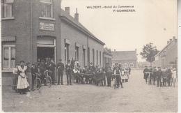 Wildert - Hôtel Du Commerce - P.  Gommeren - Zeer Geanimeerd - 1912 - Hotels & Restaurants