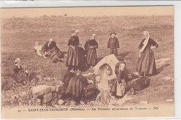 ST JEAN TROLIMON : La Fontaine De Tronoen  (Peu Courant) - Saint-Jean-Trolimon