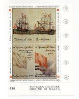 S.M.O.M. - 1997 -Storie Della Marina S.M.O.M. - 4 Valori Con Bordo Di Foglio Angolare - Nuovi - Vedi Foto - (FDC13836) - Malte (Ordre De)