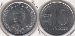 Paraguay 10 Guaranies 1978 KM#167 - Used - Paraguay
