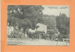 CPA -  Ile D'Oléron ST SAINT TROJAN - Le Marché - Ile D'Oléron