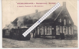 "WECHELDERZANDE-LILLE "" WACHTZAAL -BUURTSPOORWEG-STOOMTRAM-TRAM A VAPEUR"" - Lille"